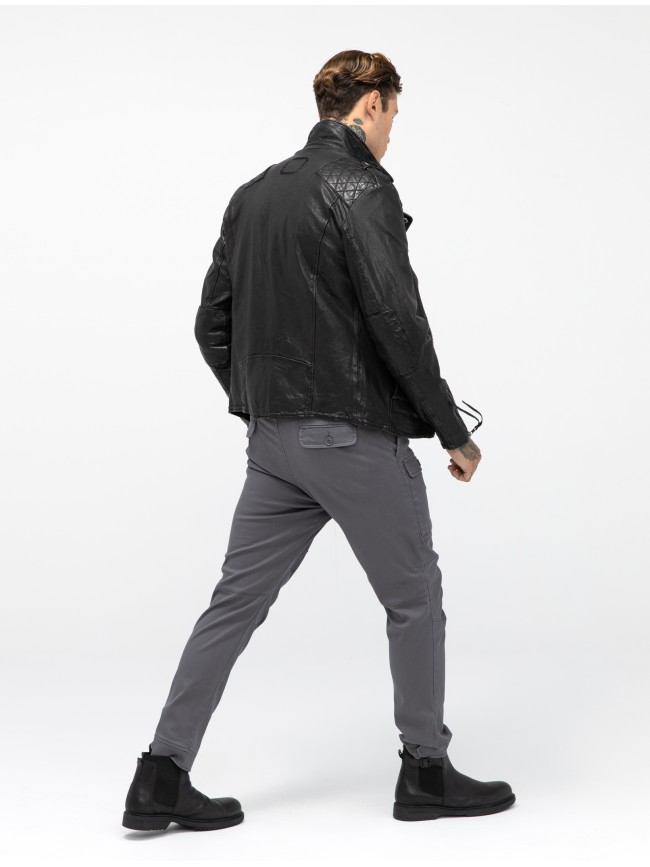 TIGHA ELON LEATHER JACKET
