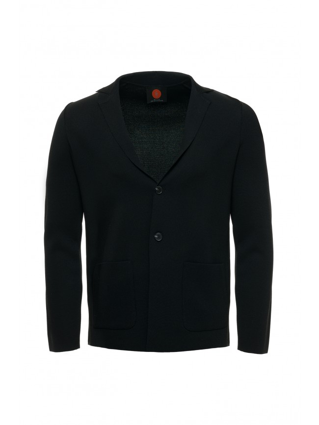 KNITTED RAYON JACKET