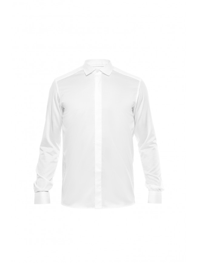 SATIN COTTON SHIRT