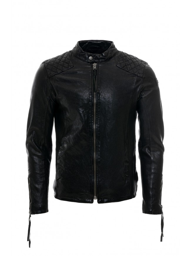 TIGHA NERO LEATHER JACKET