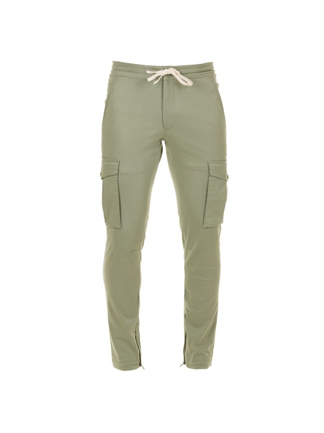 CHINO CARGO TROUSERS 2